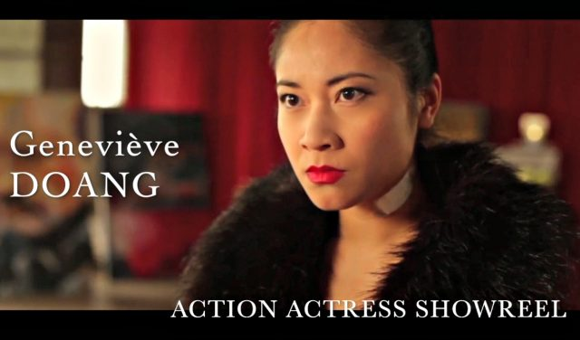 (ENGLISH) Action Actress Showreel
