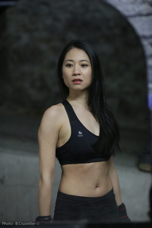 comedienne asiatique genevieve doang - actrice chinoise arts martiaux kung fu boxe mma combat