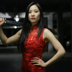 Action / Kung-Fu / Martial Arts actress Genevieve Doang