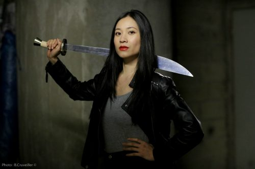 comedienne asiatique genevieve doang - actrice chinoise arts martiaux kung fu sabre Iron Fist Colleen Wing
