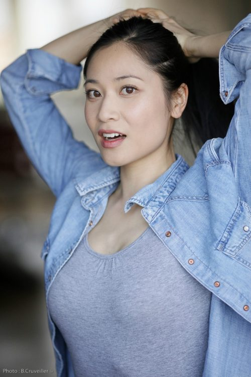 comedienne asiatique genevieve doang - actrice chinoise arts martiaux kung fu